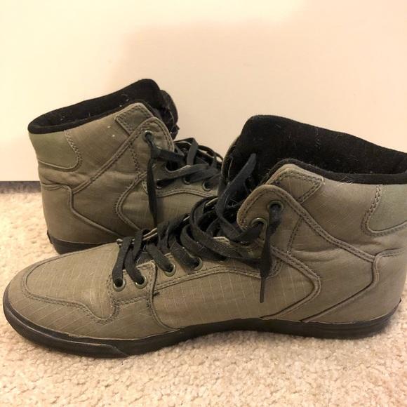 Supra Shoes | Olive Supra Vaider | Poshmark